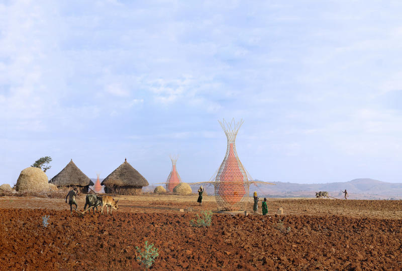 WarkaWater in Ethiopia. Credit: Architecture and Vision.